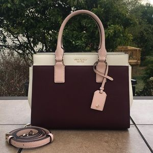 NWT Kate Spade Medium Satchel Cameron